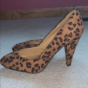 Forever 21 Cheetah Print Heels